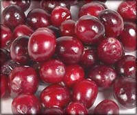 lots of lovely cranberries
